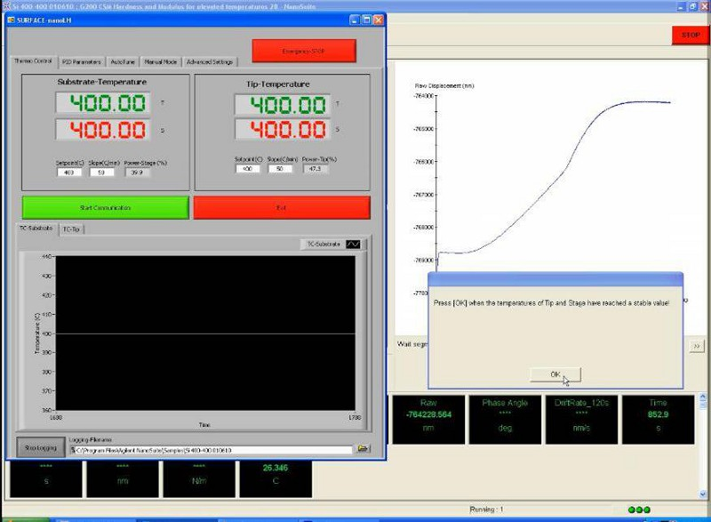 Laser heater control software